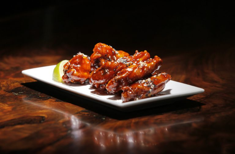 Chinese Takeout Wings at Liquid Riot Portland Maine