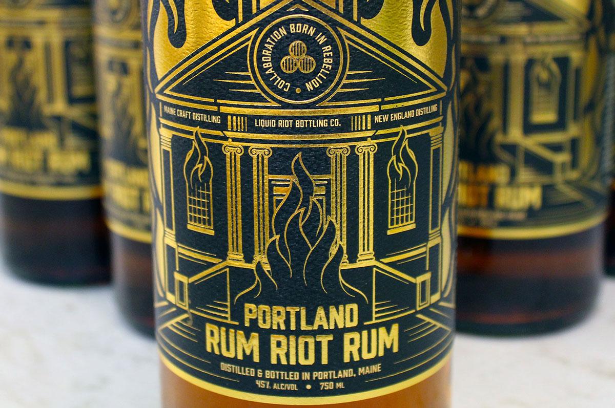Liquid Riot – Portland Rum Riot Rum