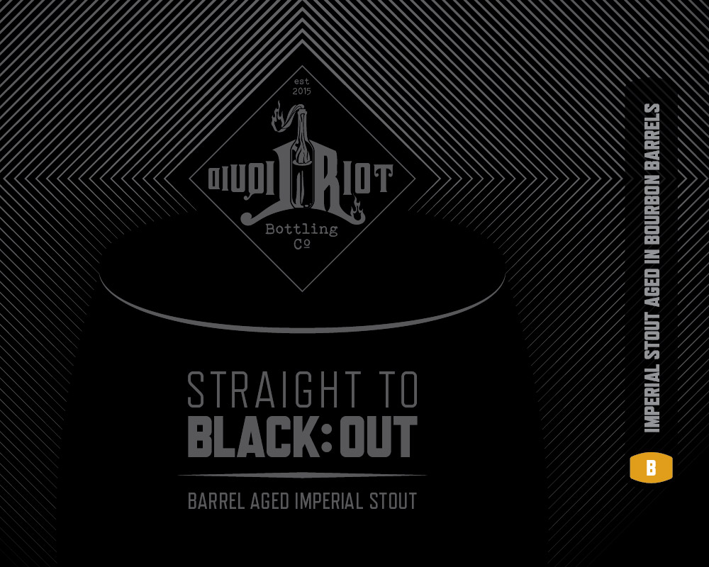 Straight to Black:Out (bourbon)