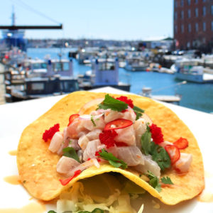 Ceviche Tostada Waterfront