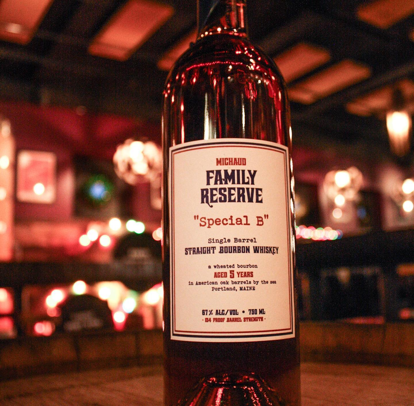 "Family Reserve ""Special B"" Straight Bourbon"