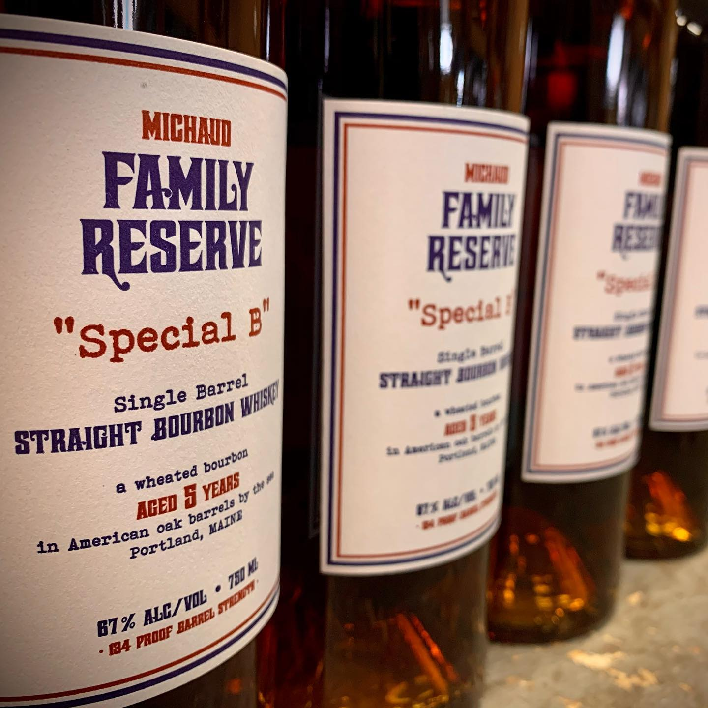 """Family Reserve """"Special B"""" Straight Bourbon"""
