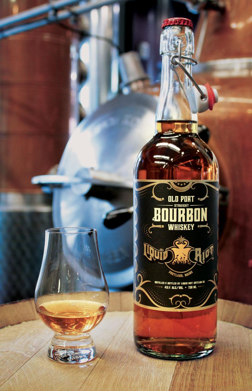 Liquid Riot Old Port Straight Bourbon Whiskey