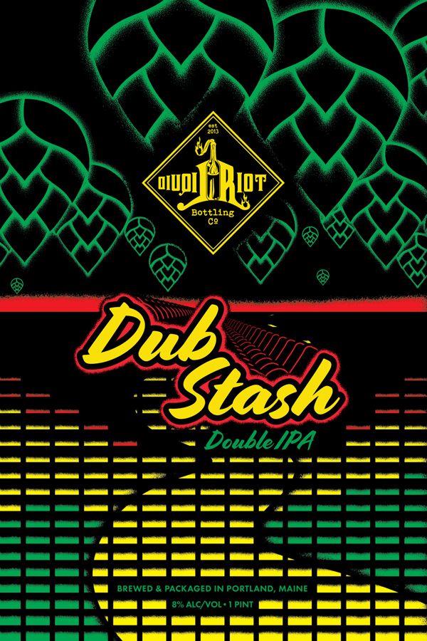 Liquid Riot – Dub Stash – Double IPA