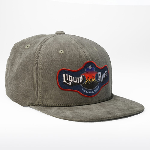 Liquid Riot – Corduroy 6-Panel Hat
