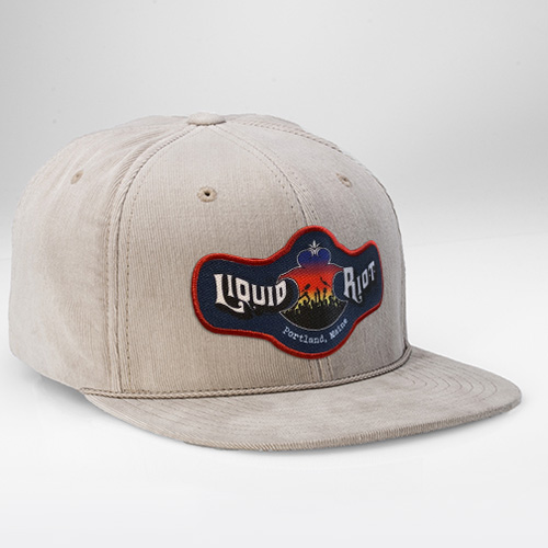 Liquid Riot – Corduroy 6-Panel Hat
