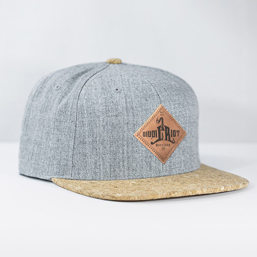 Liquid Riot – Wool & Cork Hat