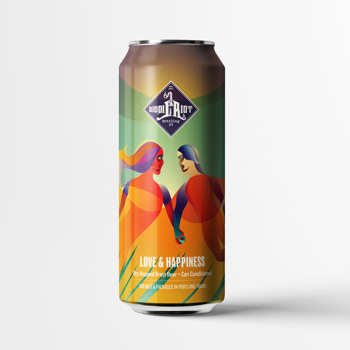 Liquid Riot – Love & Happiness – Dry Hopped Brett Beer