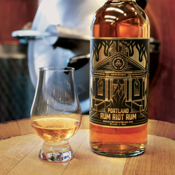 Liquid Riot – Maine Craft Distilling – New England Distilling – Portland Rum Riot Rum