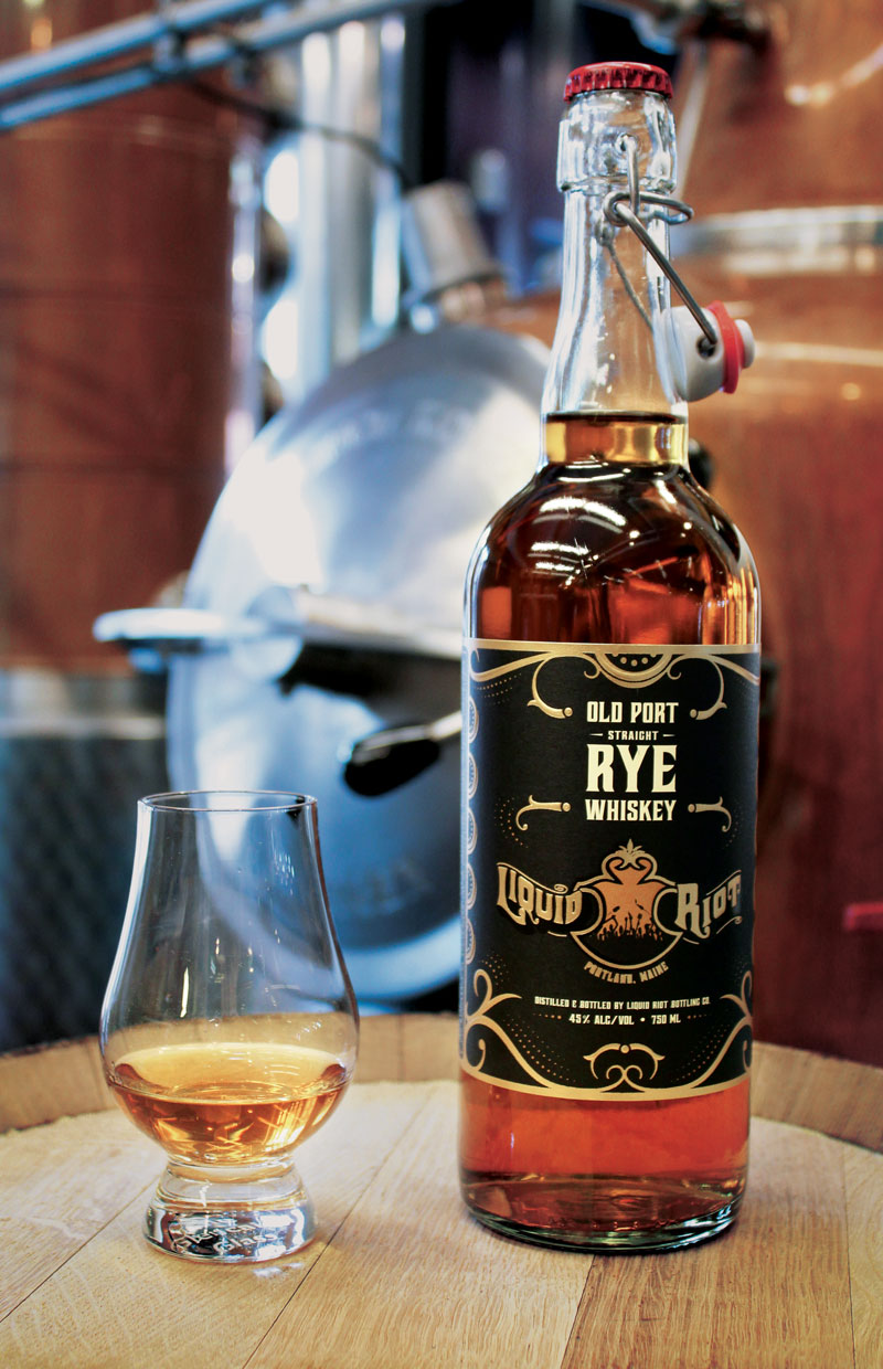 Liquid Riot Old Port Straight Rye Whiskey