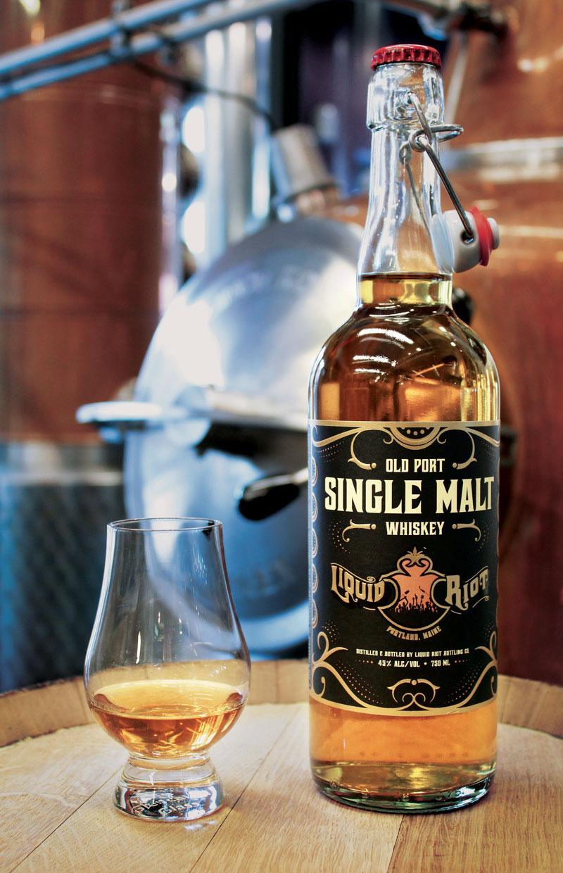 Liquid Riot Old Port Single Malt Whiskey