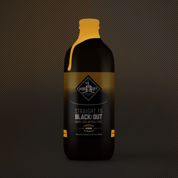 Liquid Riot – Straight to Black:Out – Bourbon