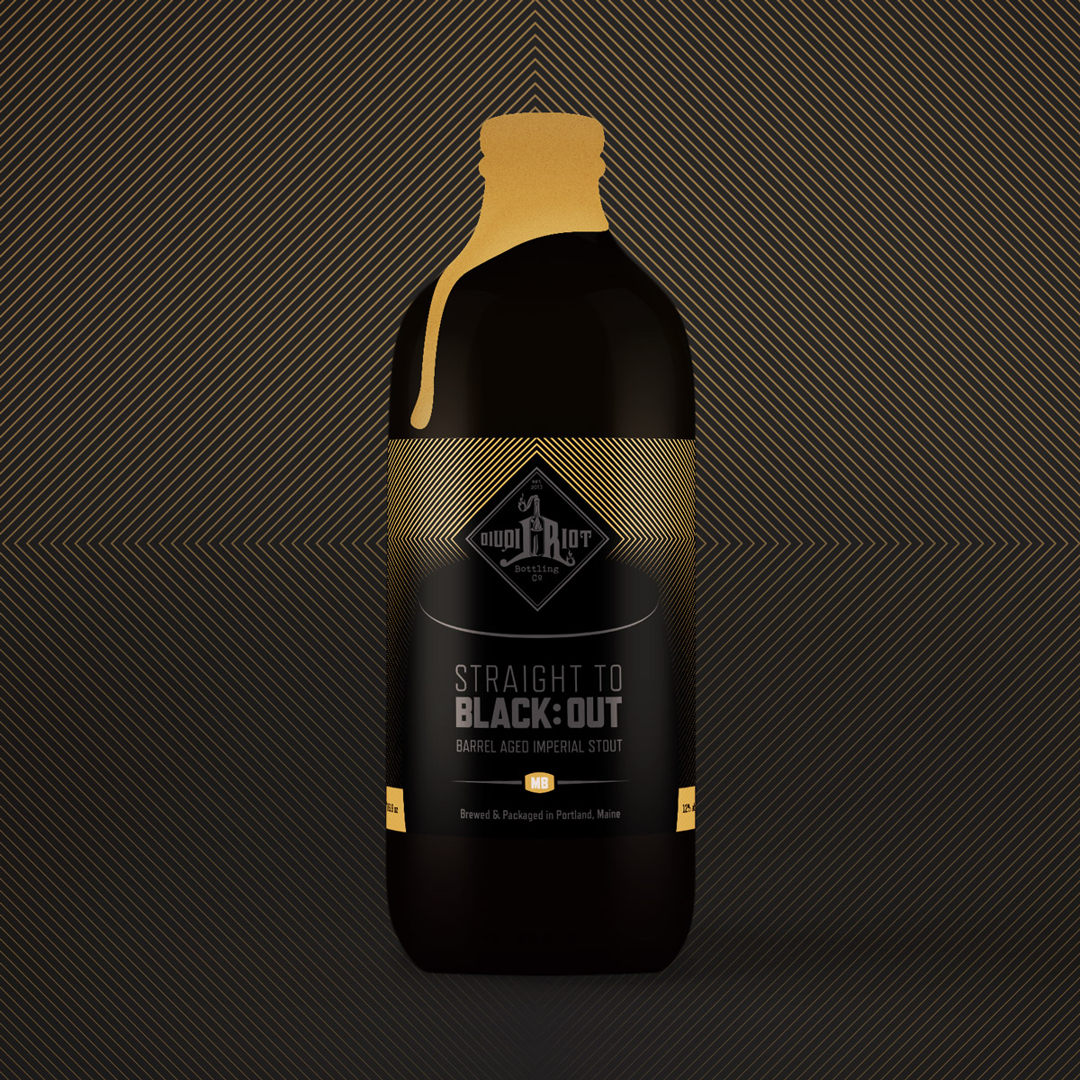Liquid Riot – Straight to Black:Out – Maple Bourbon