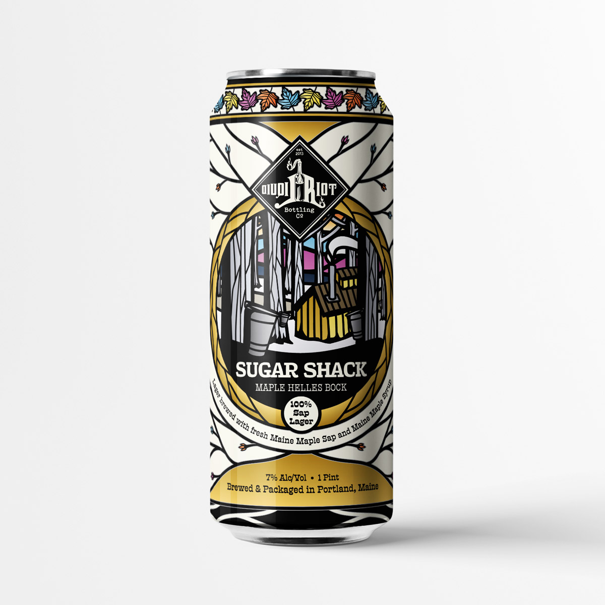 Liquid Riot – Sugar Shack – 100% Sap Maple Helles Bock