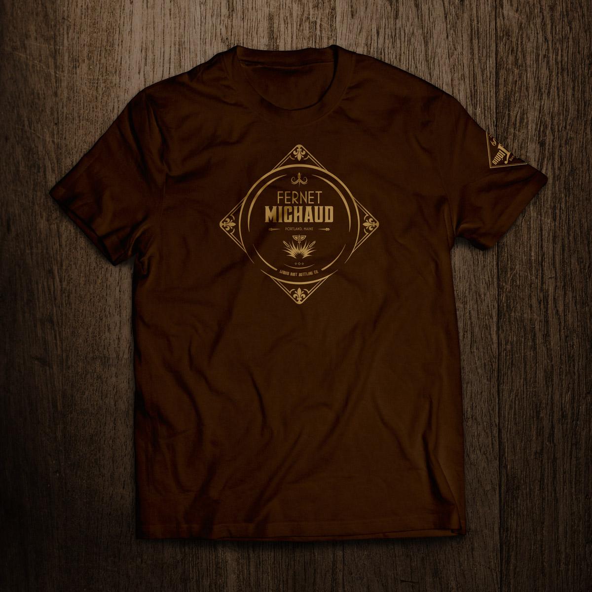Liquid Riot Fernet Michaud T-shirt