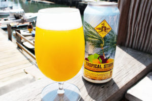 Liquid Riot – Tropical Storm – Sour Wheat Beer with Loads of Tropical Fruit