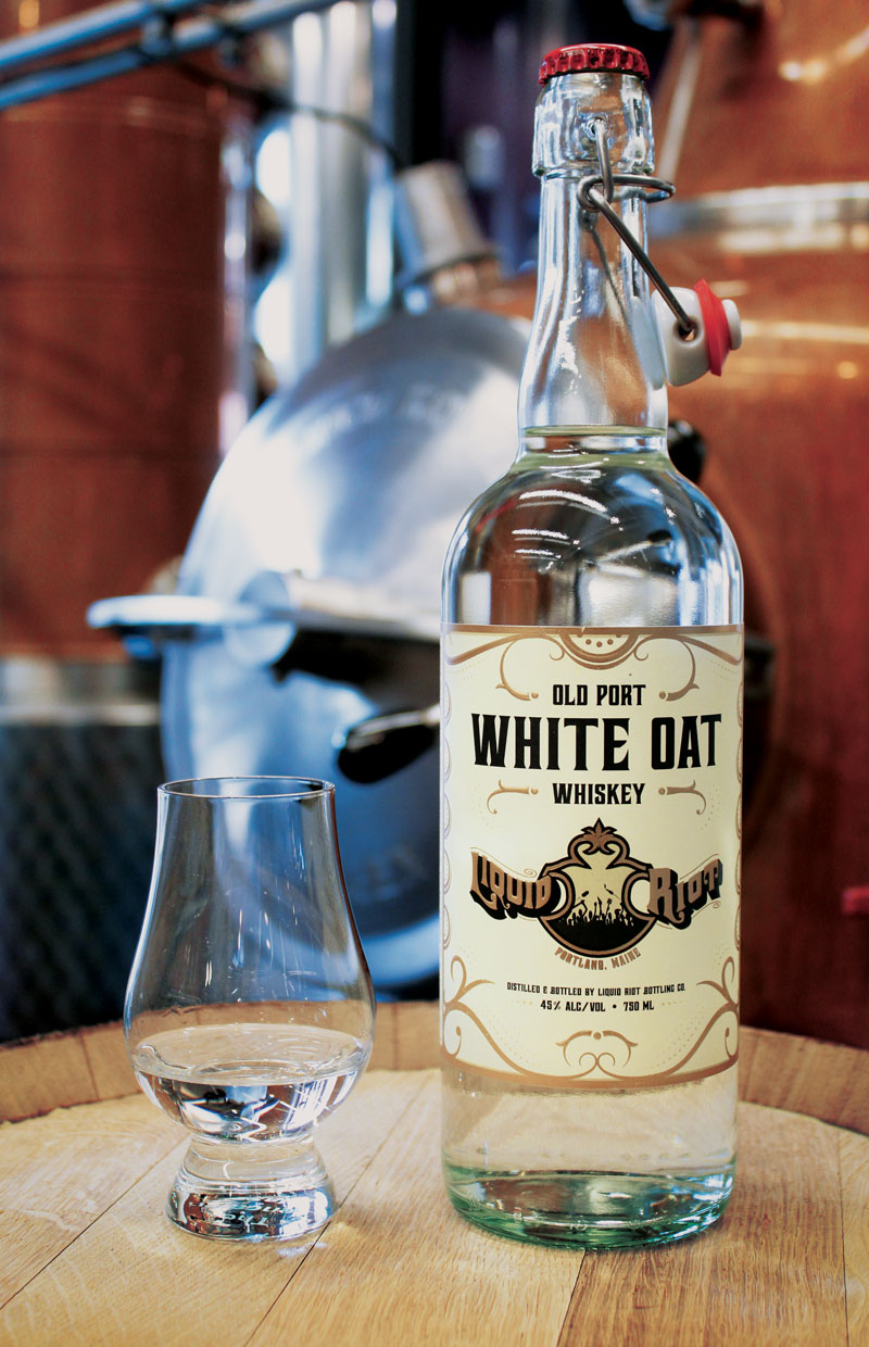 Liquid Riot Old Port White Oat Whiskey