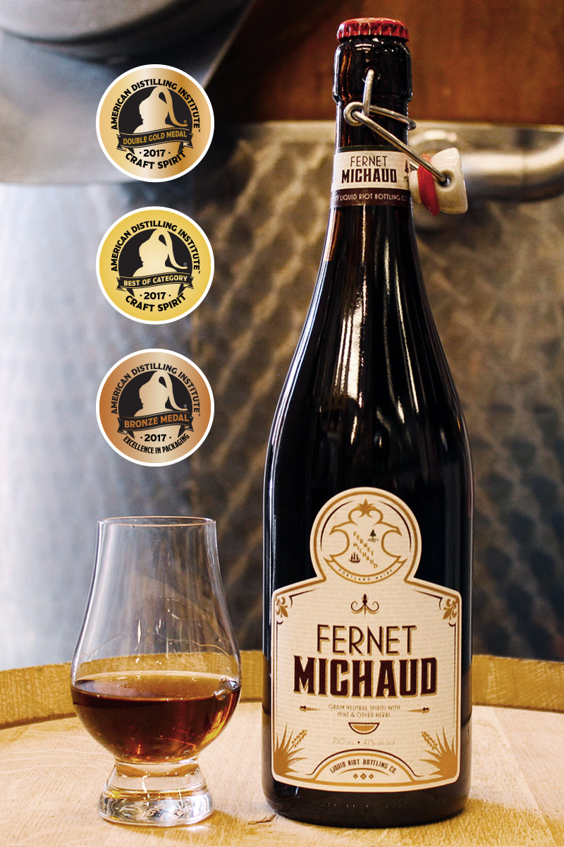 Liquid Riot Fernet Michaud