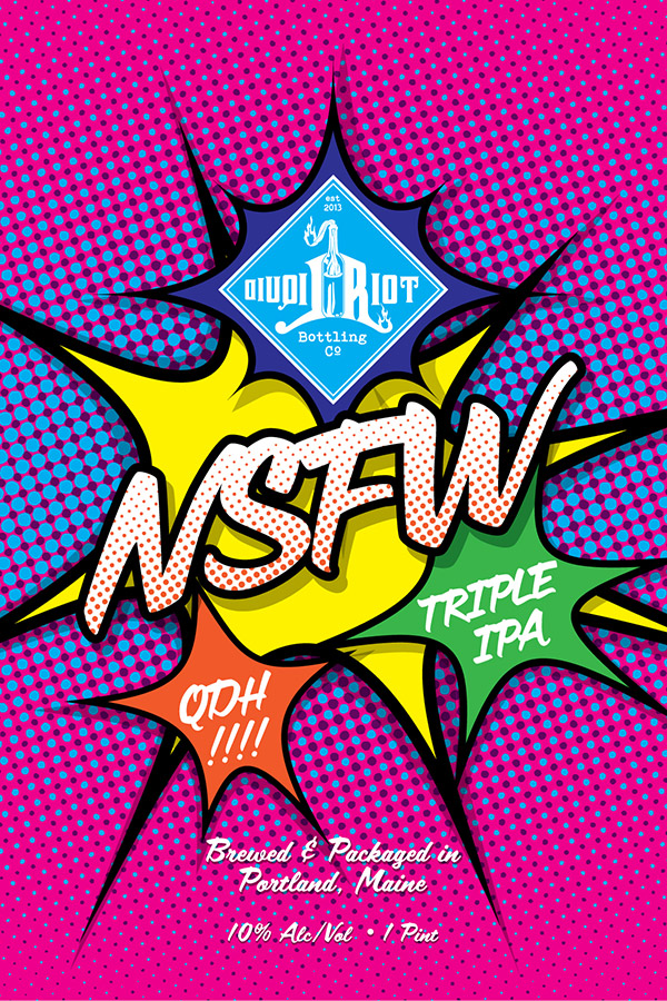 Liquid Riot – NSFW Triple IPA