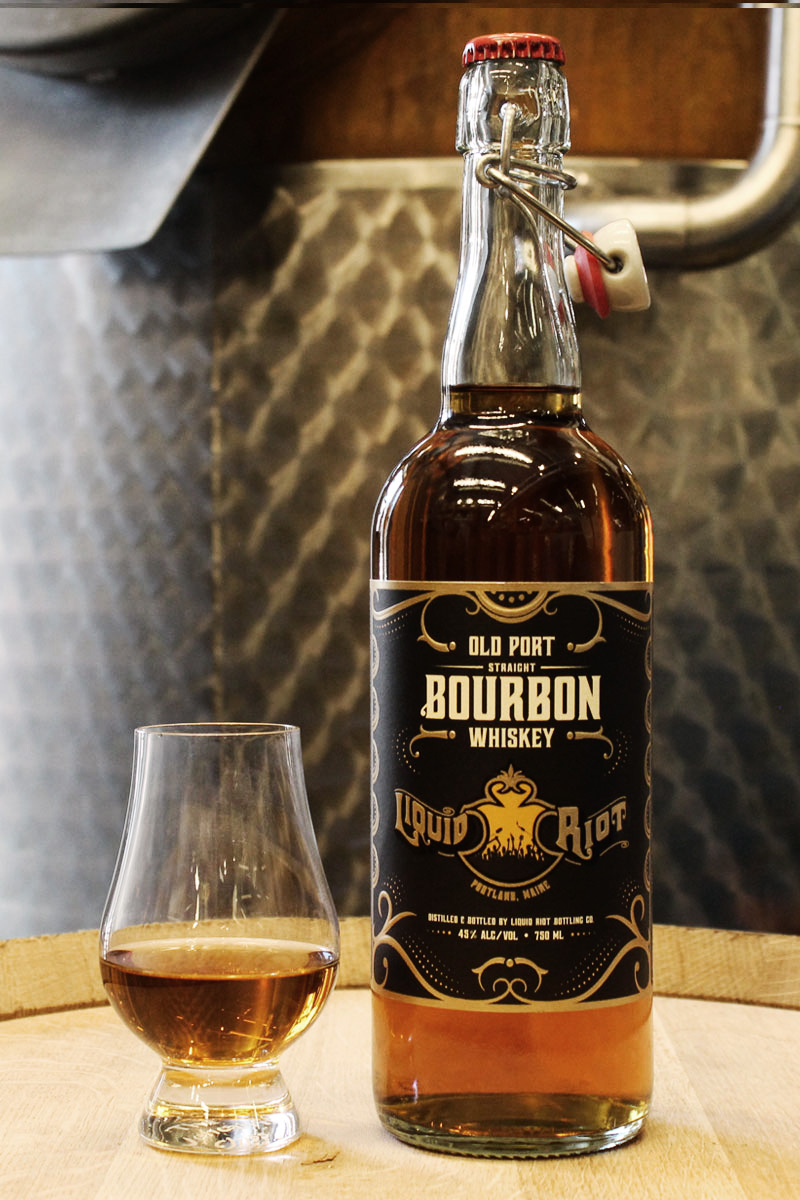 Liquid Riot Old Port Bourbon Whiskey