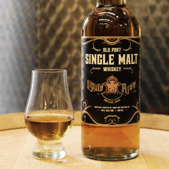 Liquid Riot Old Port Single Malt Whiskey