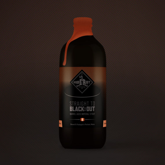 Liquid Riot – Straight to Black:Out – Cognac