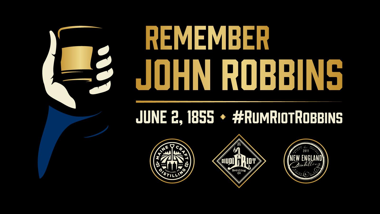 Remember John Robbins – Portland Rum Riot Rum