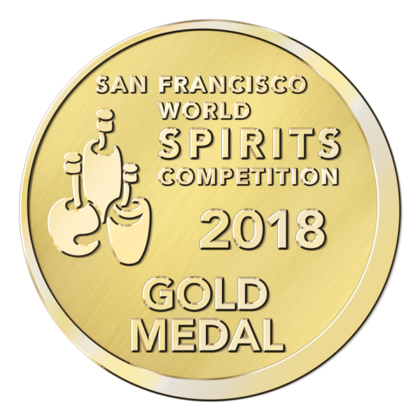 San Francisco World Spirits Competition – 2018 – Gold