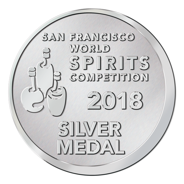 San Francisco World Spirits Competition – 2018 – Silver