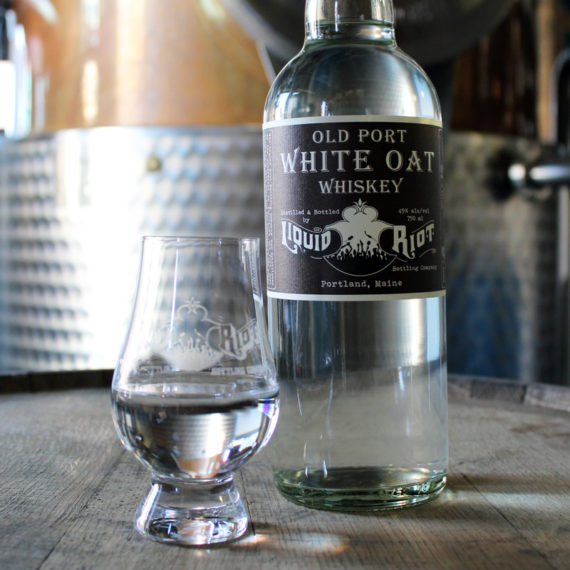 Liquid Riot Old Port White Oat Whiskey